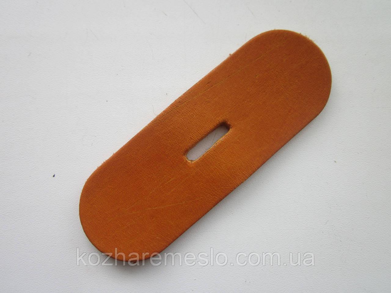 Запряжник из кожи хромового дубления без финишного покрытия (краст) 35 мм, толщина 3.5 мм (УКРАИНА)