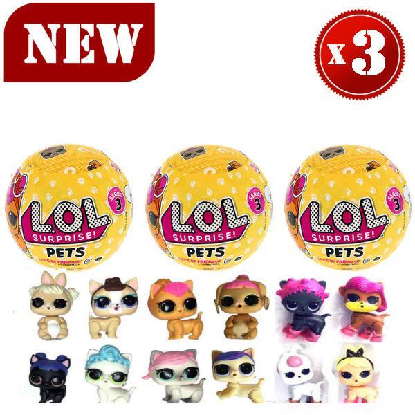 LOL Pets кукла-сюрприз 3 серия