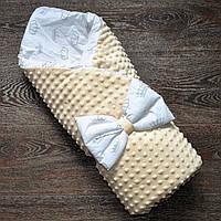 Конверт-одеяло для новорожденного 2 в 1 (деми+лето).