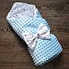 Конверт-ковдру для новонародженого 2 в 1 (демі+літо).