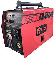 Сварочный полуавтомат инверторного типа Edon MIG-280 (+ММА)