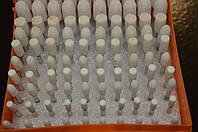 Набор шарошек для гравера 100 шт (белые)