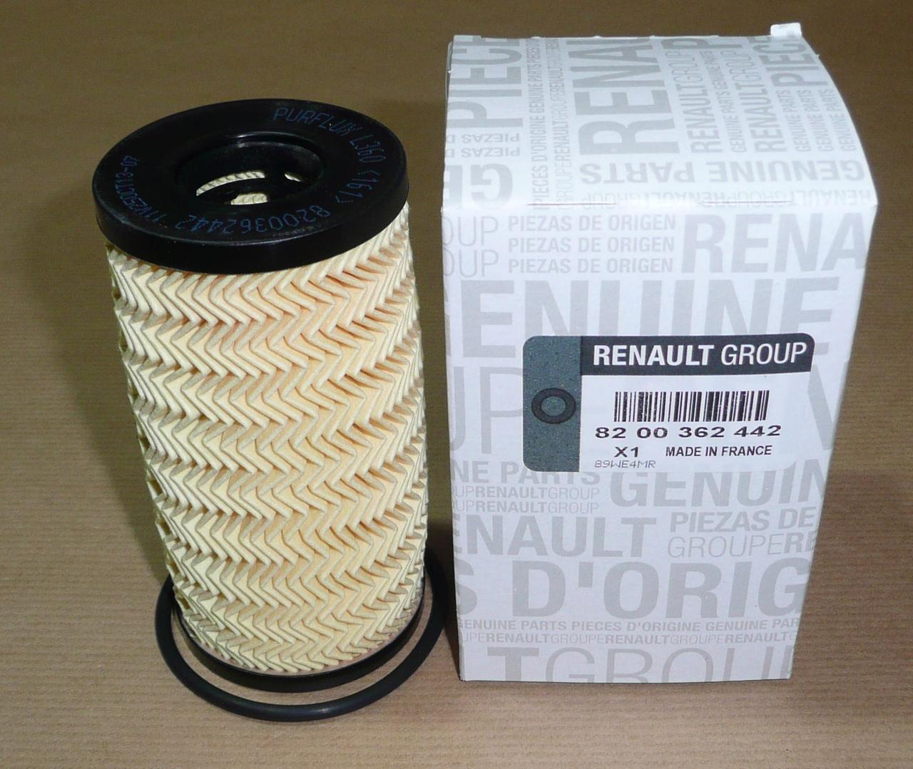Масляный фильтр Renault 8200362442 для Nissan, Opel, Renault