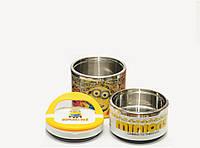 Термос для еды 750 мл - 3 вида (2 отделения)