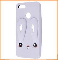 Чехол-накладка TPU Rabbit для Xiaomi Mi A1 / Mi 5X Gray