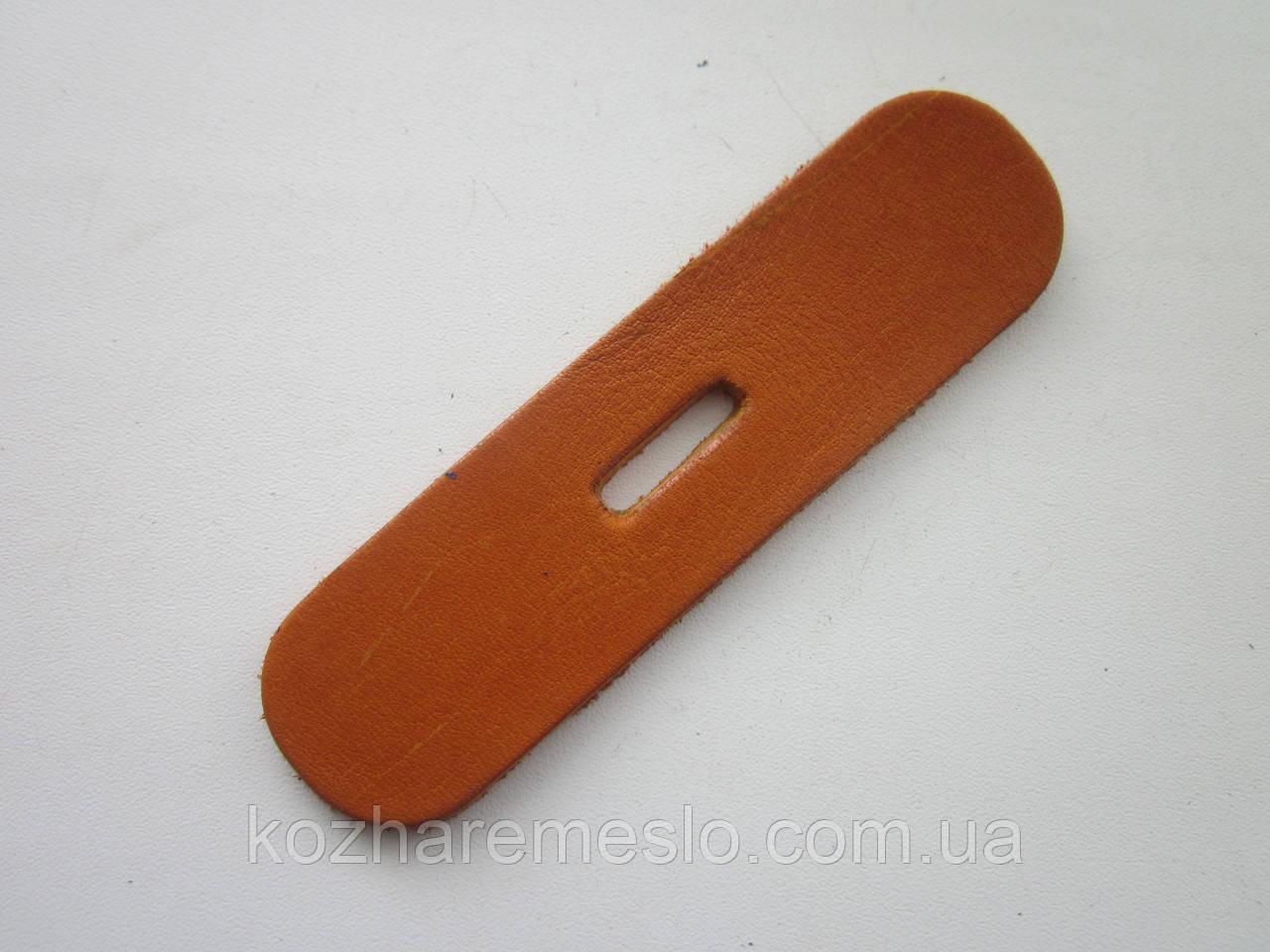 Запряжник из кожи хромового дубления без финишного покрытия (краст) 25 мм, толщина 3.5 мм (УКРАИНА)