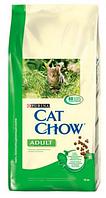 Cat Chow (Кэт Чоу) Сухой корм для кошек кролик и печень 400 г