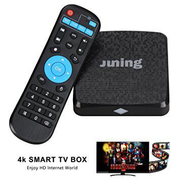 """Android TV Box Oliying Android 6.0, 1GB RAM/8GB ROM/Quad Cortex A53 2.4GHz/WiFi/4K """"Over-Stock"""""""