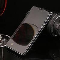 Чехол Книжка для Samsung Galaxy A7 2015 A700 зеркальный Mirror Black