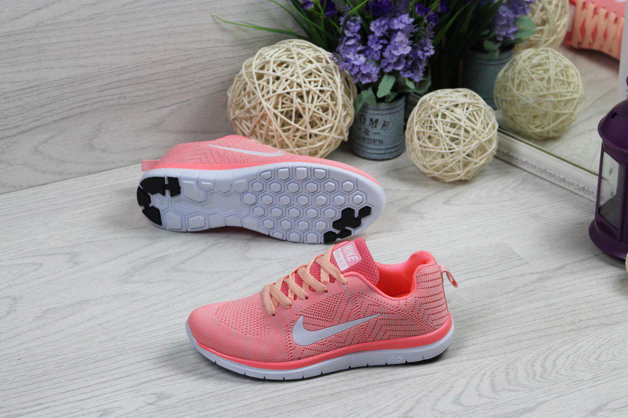 4151c4ce Я в шоке!™ | Кроссовки женские розовые Nike Free Run 4.0 4900. Цена ...