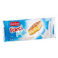 Бисквит с молочной начинкой Dolciando Farci Milk 10st 280g