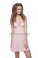 Жіноча сорочка ELLEN Рожевий Горошок 145/001, фото 1