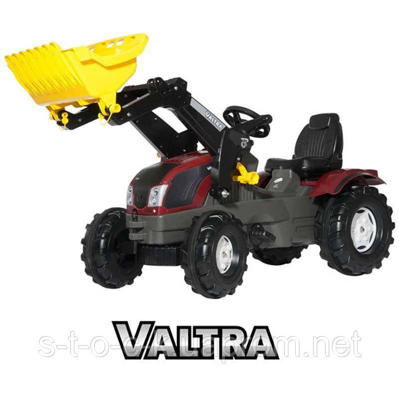 Детский педальный трактор Rolly Toys 611157 Farmtrac Valtra