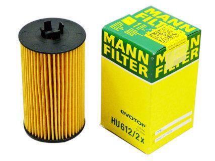 Масляный фильтр Mann HU612/2x для Alfa 159, Chevrolet Aveo, Cruze, Trax, Fiat Croma, Opel Adam, Astra