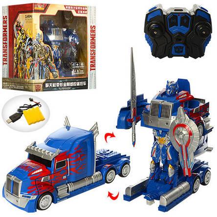 Робот-трансформер на радиоуправлении Transformers, фото 2