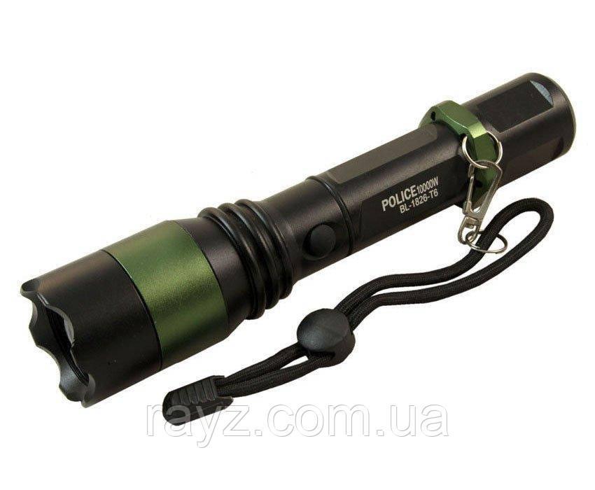 Тактический фонарик Police BL-826-T6