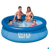 Семейный надувной,Intex Бассейн наливн. 28120 NP размером 305х76см, объём: 3854л, вес: 8,4кг