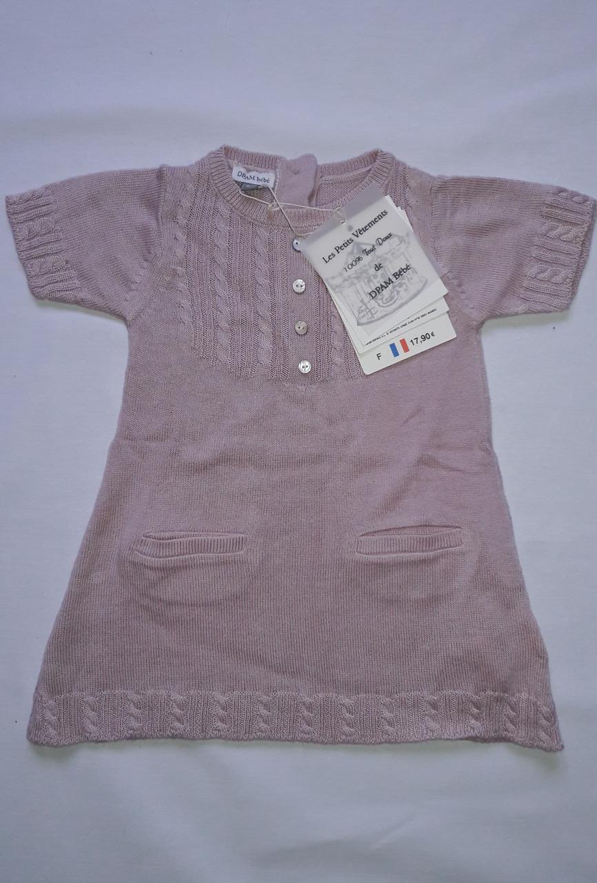 Платье для девочки DPam кофе