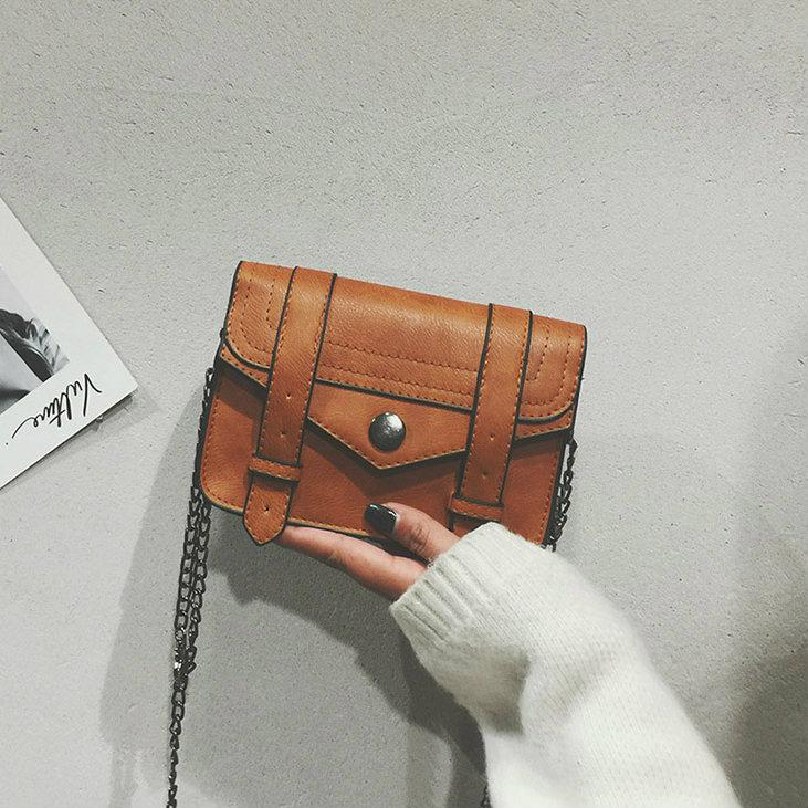 Женская мини сумка на цепочке