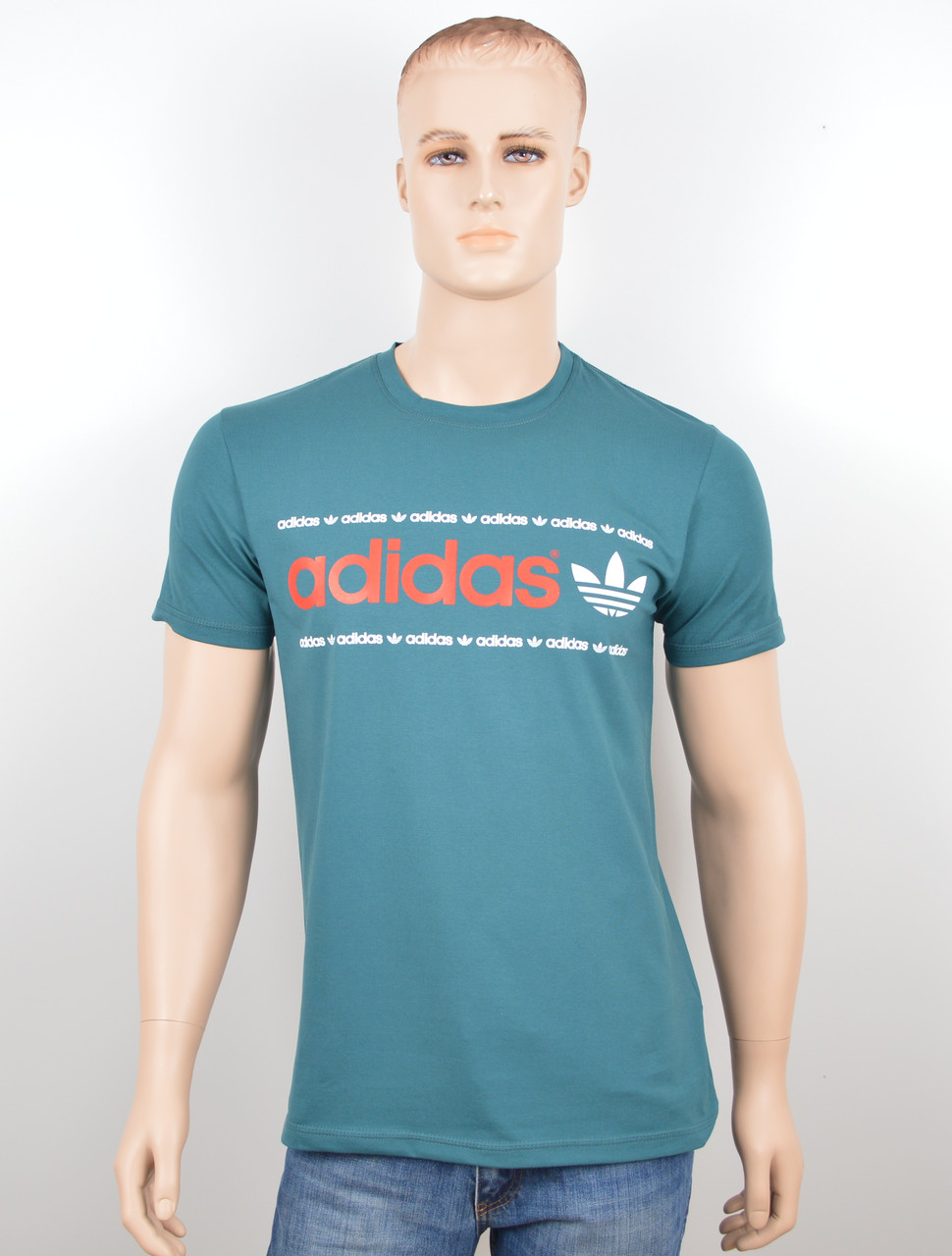 "Мужская футболка ""Adidas 18022"" бутылка"