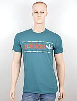 "Мужская футболка ""Adidas 18022"" бутылка, фото 1"