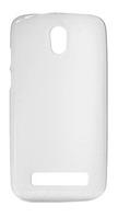 Накладка Drobak Elastic PU для HTC Desire 500 white