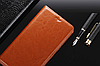 """HONOR V9 / 8 Pro оригинальный кожаный чехол книжка из натуральной кожи магнитный противоударный """"MARBLE"""", фото 3"""