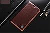 """LG V35 ThinQ оригинальный кожаный чехол книжка из натуральной кожи магнитный противоударный """"MARBLE"""", фото 5"""