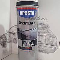 Акриловая аэрозольная спрей-краска PRESTO NO. 288913 Primer black ( грунт черный ), 500мл
