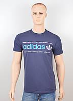 "Мужская футболка ""Adidas 18022"" синий, фото 1"