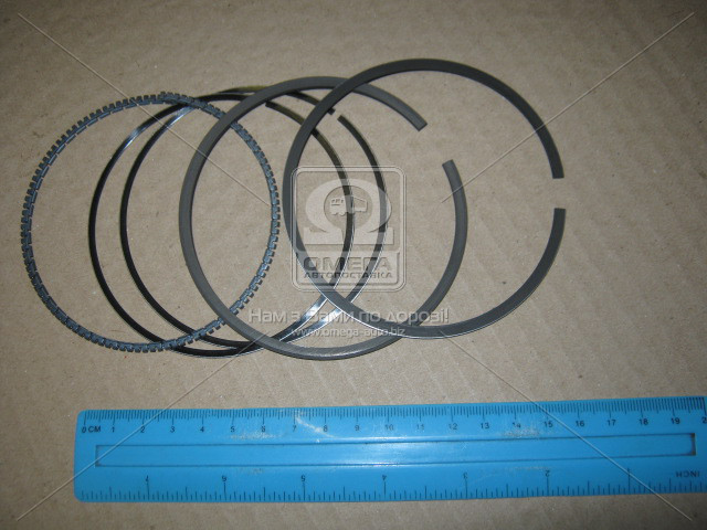 Кольца поршневые BMW 92.0 (1.5/2/3.5) M30B34/M30B35 (пр-во KS) 800002511000