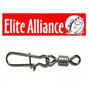 Карабин с вертлюгом Elite Alliance-10 10шт.