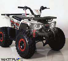 ⭐ Квадроцикл FORTE Hunter 125 бензиновый, бело-красный