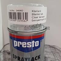 Акриловая аэрозольная спрей-краска PRESTO NO. 349362 Clear lacquer ( бесцветный лак ), 500мл