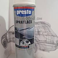 Акриловая аэрозольная спрей-краска PRESTO NO. 348051 White glossy ( белый глянцевый ), 500мл