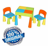 Комплект детской мебели Tega Baby Mamut стол + 2 стула (мультицвет (Мulticolor))