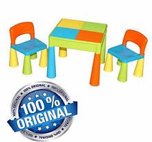 Комплект дитячих меблів Tega Baby Mamut стіл + 2 стільці (мультиколір (Мulticolor))