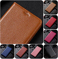 """Xiaomi Redmi Note 4X кожаный чехол книжка из натуральной кожи магнитный противоударный """"BULL LEATHER"""""""