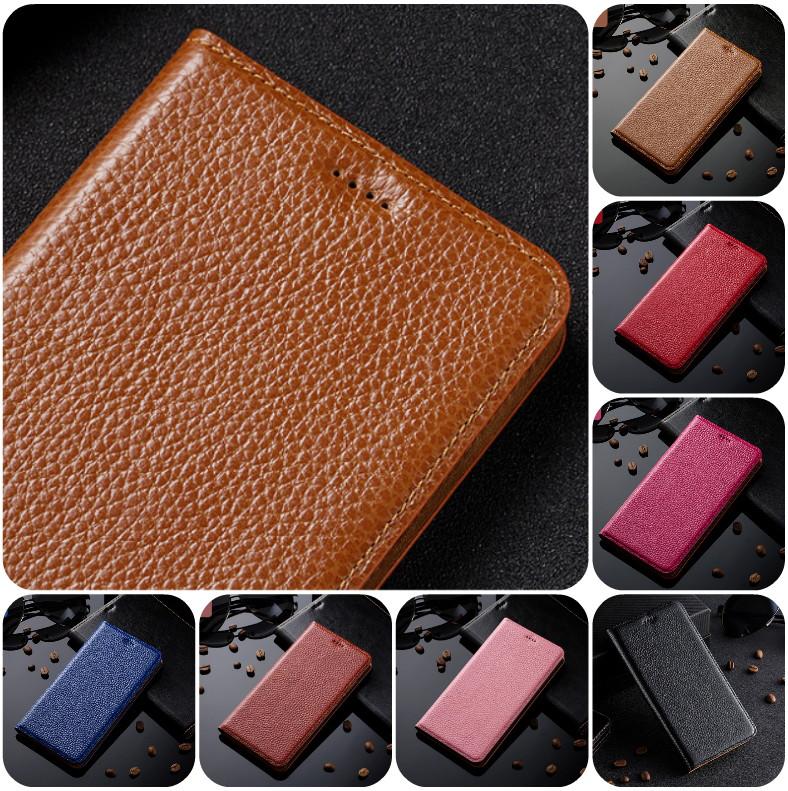 """Xiaomi Redmi 5A оригинальный кожаный чехол книжка из натуральной кожи магнитный противоударный """"BULL LEATHER"""""""