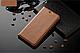 """Xiaomi Mi Mix 2s оригинальный кожаный чехол книжка из натуральной кожи магнитный противоударный """"BULL LEATHER"""", фото 4"""