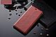 """Xiaomi Mi Mix 2s оригинальный кожаный чехол книжка из натуральной кожи магнитный противоударный """"BULL LEATHER"""", фото 6"""