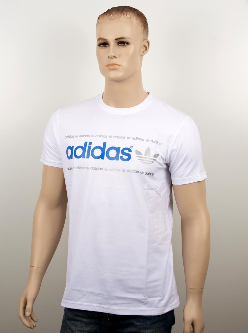 "Мужская футболка ""Adidas 18022"" белый"