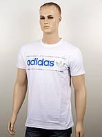 "Мужская футболка ""Adidas 18022"" белый, фото 1"