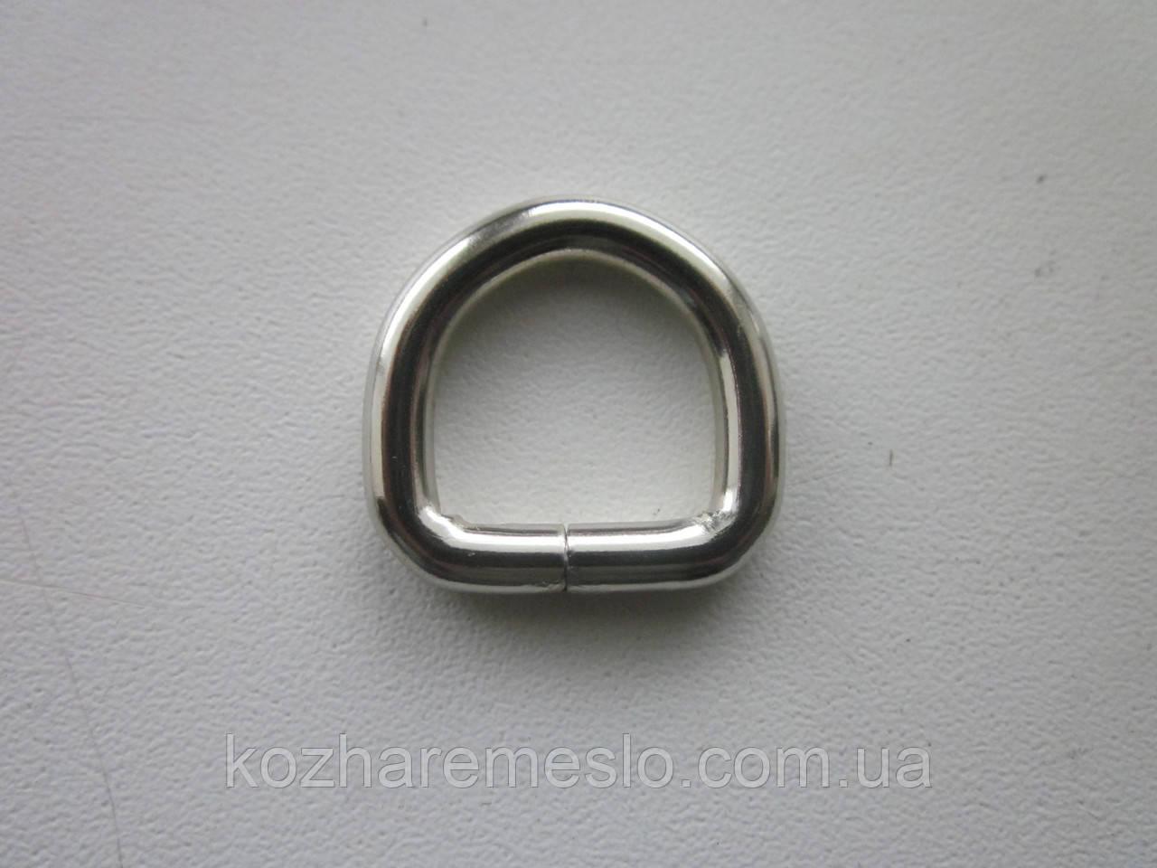 Полукольцо 4 х 15 х 15 мм никель