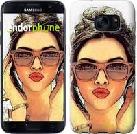 "Чехол на Samsung Galaxy S8 Девушка_арт ""3005c-829"""