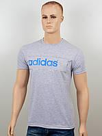 "Мужская футболка ""Adidas 18022"" меланж, фото 1"