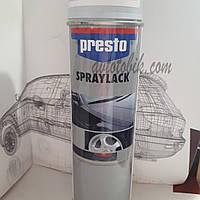 Акриловая аэрозольная спрей-краска PRESTO NO. 347139 Primer grey ( серый грунт ), 500мл