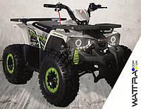 Квадроцикл FORTE Hunter 125 бензиновый, бело-салатовый
