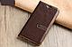"""Xiaomi Mi Mix 2s оригинальный кожаный чехол книжка из натуральной кожи магнитный противоударный """"MARBLE SOFT"""", фото 5"""