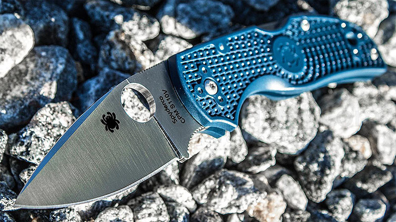 Нож Spyderco Native 5 Dark Blue